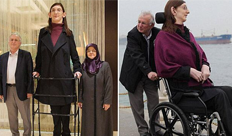 19岁女孩身高2.13米 太高无法走路
